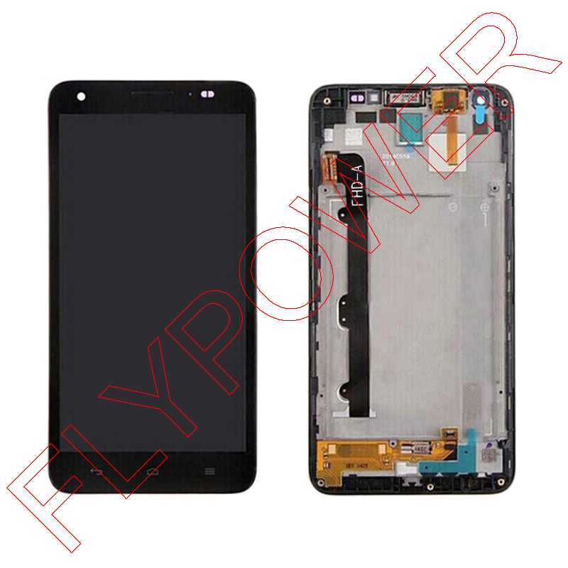 For Huawei Honor 3X Pro G750-T20 LCD Screen Display with Touch Screen Digitizer Assembly+frame free shipping; 100% warranty<br>