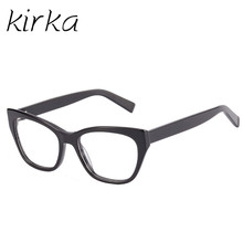Kirka Real Product Photo Black Goggles Fashion Glasses Frame Students Quality Optical Myopic Eye Glasses Frames(China)