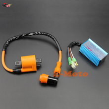 Jog 50cc 70cc MINARELLI Scooter High Performance AC Racing CDI Box Ignition Coil free shipping