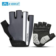 INBIKE Men Women Fitness Gloves Cycling Gloves Half Finger Gel Pad Motorcycle MTB Road Bike Gloves Sports Bicycle Gloves MH319