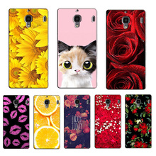 for Xiaomi Red Rice Redmi 1S Case Plastic Cover Case for Xiaomi Red Rice Hongmi 1S Case Back Hard Smart Phone Cover Fundas(China)
