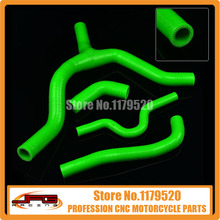 Silicone Radiator Coolant Hose For KXF250 KX250F KXF 250 07 - 08  MX Enduro Dirt Bike Racing Offroad Motorcycle