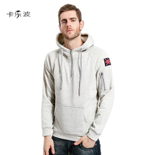 KALEBO Spring Rendezvous Hooded Hoodie Men's / Women's Action UK Flag Embroidery & Hat Casual Casual Men's Hooded Cap Hoody(China)