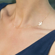New Europe And The United States Minimalist Fashion Hot  Necklace Pendant Necklace Female Dove Big Gift Necklace