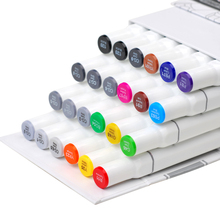 Know Art Marker For animation architecture clothing interior POP Dual Headed Oily Alcoholic Artist copic markers touch