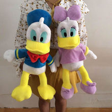 19.7'' Original Donald Duck & Daisy Duck Stuffed animals plush Toys Mickey Mouse Clubhouse Doll Pelucia Donald Duck Plush Toy