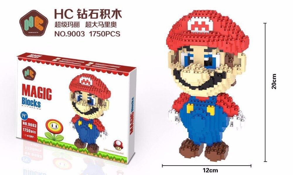 HC Super Mario DIY  Blocks 9003-3