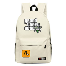fashion backpacks 2017 GTAV backpacks for teenagers game bags candy color canvas bag