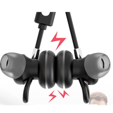 Magnetic Suction Bluetooth Earbuds Earphone Professional Earpiece Wired Control Microphone In-ear handset