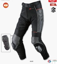 PK-709 motorcycle pants / mesh + leather racing suits / popular brands riding pants / Men's summer mesh pants(China)