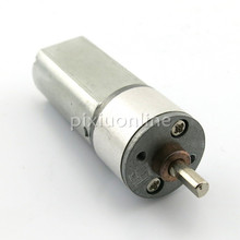 1pc J189 Steel Shell 050 Gear DC Motor 16ga-050 Micro Motor 6V 430RPM DIY Circuit Making Parts Free Shipping Russia
