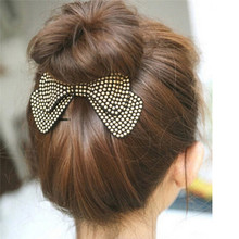 Women Hair Accessories Wholesale!New Arrival Bow Hairpins,Designer All Match Hair Barrettes, Girl'S Trendy Hairggrips