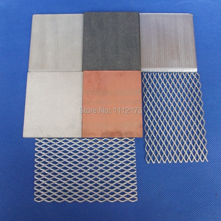 Zinc anode Free shipping Zinc anode Hull cell test Zinc anode<br>