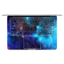 "2016 Laptop Sticker Keyboard Side Full Vinyl Decal Blue Starry Skin For Apple Macbook Air 11""13"" Retina/Pro 13"" 15"" New12(China)"