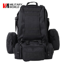 Airsoft Tactical Military Molle Backpack 600D Nylon Waterproof Camo Waist Pack Bag Shooting Hunting Paintball Molle Tool Pouch