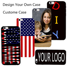 Private Custom Phone Case For Sony Xperia M Dual C1905 C1904 C2004 C2005 Cover PC Back Shell DIY Name LOGO Inscription Letter