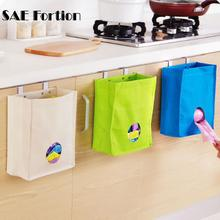 1pc New Practical Kitchen Cupboard Garbage Hanging Bag Organizadores Hanging Storage Bag Organiser Sock Underwear Hanging Holder