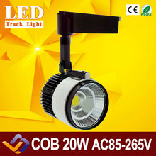 20W COB LED LED Track Rail Stand Spot Light Lamp Lighting Ceiling Track Rail Light Down Spotlight Lamp Display Cabinet 85-265V