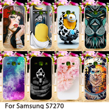 Soft Smartphone Cases For Samsung Galaxy Ace 3 3G S7270 LTE S7275 S7272 S7278 4.0 inch Covers Hard Back Cover Skin Sheath Bags