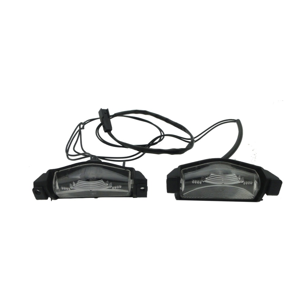1 Set License Plate Light Lamps for Mazda 3 Sedan 2008-2010<br>