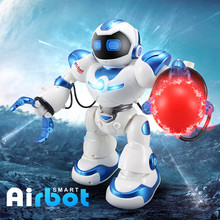the best educational toy versatile AlBott intelligent robot toys dancing singing story multifunction rc fighting toy for gift