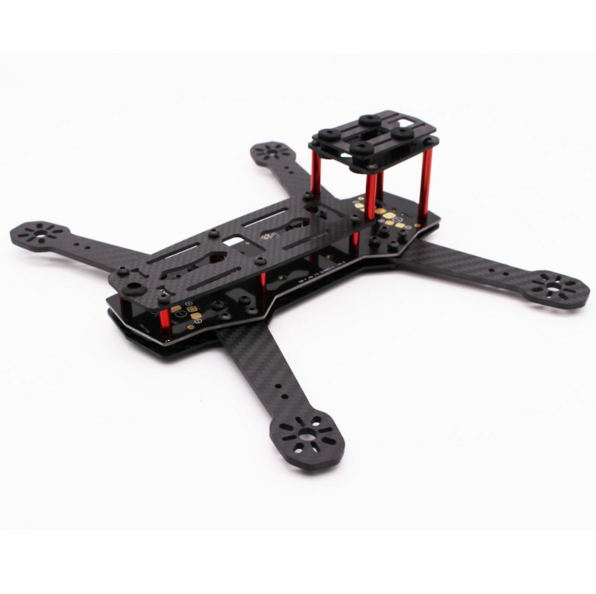 ZMR250 V3 Carbon Fiber FPV Racing Quadcopter Frame Kit FPV Drone With PDB V2 5-12v bec LED Board than QAV250 QAV-X Martian 220<br><br>Aliexpress