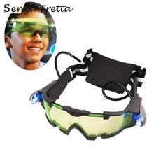 1pc Children's Protective Glasses Kid's Night Vision Goggles Windbreak Sand Anti-shock Roller Skid Protection Mirror Firecracker