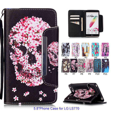 Luxury Leather Silicone Phone Case for LG G Stylo LG LS770 Stand Function Wallet Flip Cover LG LS770 Coque for LG G4 Stylus Sock