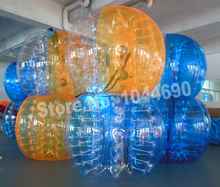 free shipping 1.5m dia human inflatable bubble ball for adult soccer game