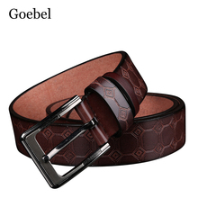 Buy Goebel Individuality Man Belts Fashion PU Leather Men Leather Belts Alloy Pin Buckle Popular Male Brand Belts for $3.99 in AliExpress store