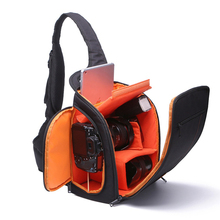Dslr Camera Bag Shoulder Photo Digital Camera Video bags for Canon Nikon Sony Pentax Sling Box Cases Waterproof with Rain Cover