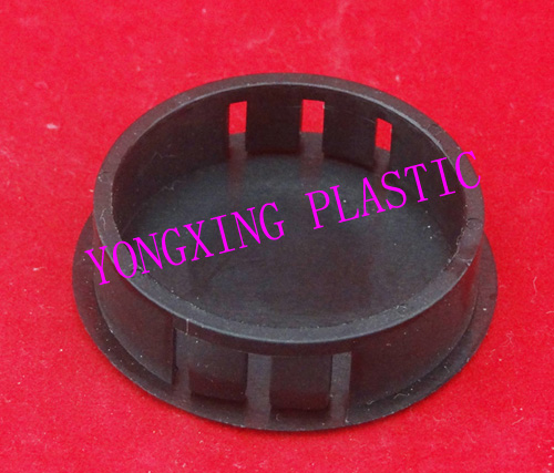 100 piece/lot nylon material hole plug HP38 Opp bag package black color<br>