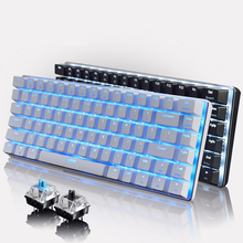 Ajazz AK33 Geek Backligt Mechanical Keyboard With Backlit LED Light Black Blue Switch Gaming Keyboards for PC Tablet Desktop