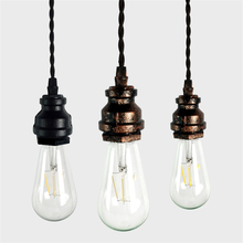 New American Village Creative Art Pendant light Personalized Water Pipe Pendant lamp for Restaurant Coffee bar Clothes Shop(China)