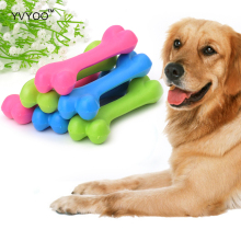 YVYOO Pet dog toys Rubber Chew Toys TPR Non-toxic Simulation Small bones toys Molar Clean the teeth 1pcs YV01(China)