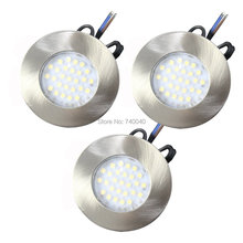 3 Pack Led Downlights Kits Recessed Ceiling Lights Equivalent Halogen Bulbs 300lm Warm White AC Under Kitchen Cabinet Spotlight
