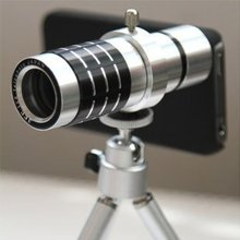 Buy Aluminum 12X Optical Zoom Telescope Lens camera Tripod Apple iPhone 5 5S SE 6 6S 7 plus samsung s5 s6 s7 edge note 3 4 5 for $22.99 in AliExpress store