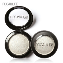 FOCALLURE 10 Colors Baked Eye Shadow Professional Eyeshadow Eye Cosmetics Tools Makeup Beauty Glitter Shimmer