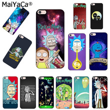 Buy MaiYaCa Rick Morty Season Coque Shell Phone Case Apple iPhone 8 7 6 6S Plus X 5 5S SE Cover for $1.51 in AliExpress store