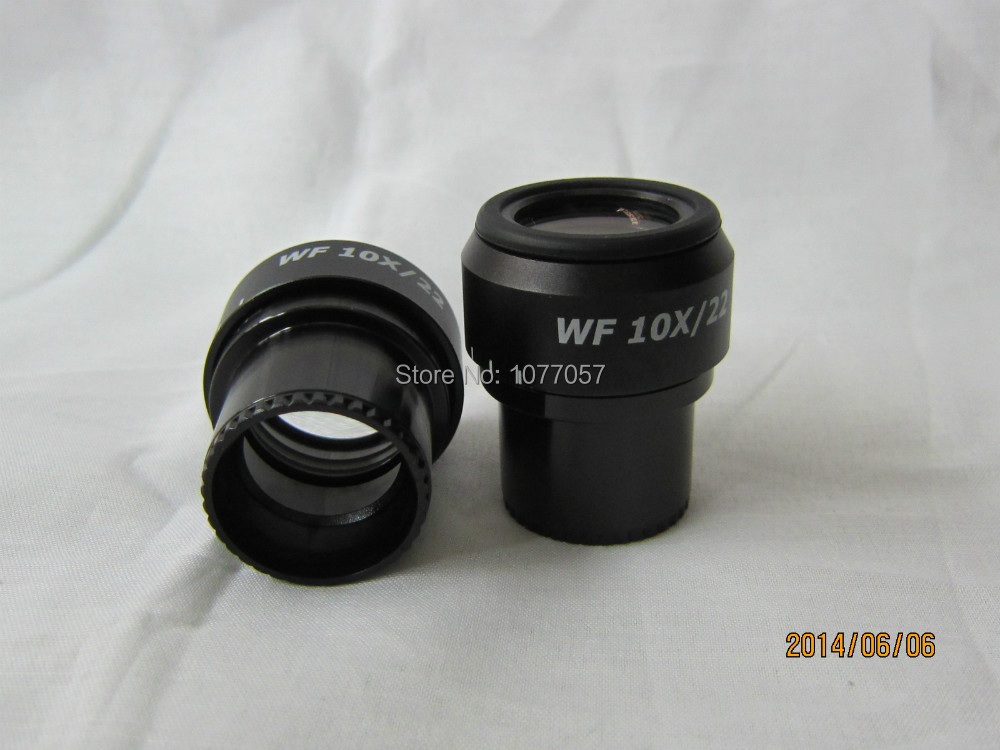 Free shipping,Top quality,Super widefield WF10X-22mm Adjustable Stereo Eyepiece for Nikon , Olympus  Microscope W/30mmdia<br><br>Aliexpress