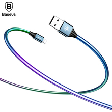 Buy Baseus Metal Spring Charging Cable iPhone 8 7 6 Color Gradient USB Cable iPad USB Charger Cable Mobile Phone Data Cable for $4.74 in AliExpress store