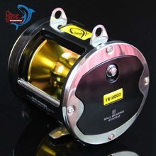ROSEWOOD Big Game Trolling Fishing Reel 8 Stainless Steel Ball Bearings Boat Drum Casting Fishing Reels Super Power Drag 25kg