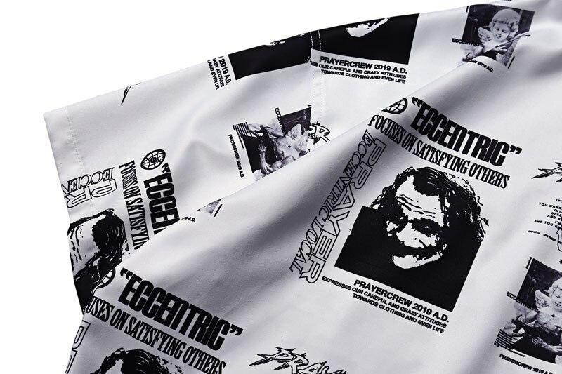 Joker Angel Print Shirts 5