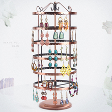 Earrings stud bracelets holder frame 6 layers each layer of 48 hole  A total of 288 booths fashion display rock display shelf