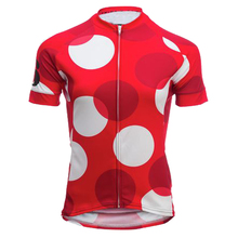 New 2017 Cycling jersey Women's Wear bike short sleeve MTB mountain clothing Ropa ciclismo/ Breathable/Red circle/ Tights