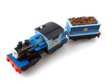 Electric Thomas Train FERDINAND T053E Thomas And Friends Trackmaster Magnetic Tomas Truck Car Engine Railway Toys for Boys(China)