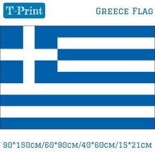 90*150cm/60*90cm/40*60cm/15*21cm Greece Flag Greek National Banner For World Cup / National Day / Olympic Games(China)