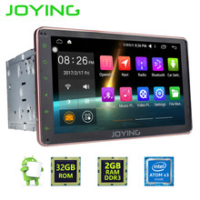 JOYING Android 6.0 Car Stereo 2GB RAM Head Unit Intel Quad Core Double 2 Din Touch Screen Indash Radio GPS Navi Hands-free BT(China)