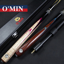 Omin Snooker Cues Billiard Stick 9.8mm Tips Spirit Model With Black 3 4 Snooker Cues Case Set China 2017(China)