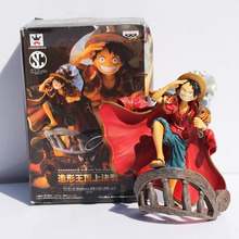 2 Styles One Piece Luffy Figure PVC Action Figures Toy Dolls 14cm Collection Model Toys Free Shipping